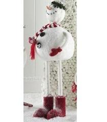 K & K 18 Inch Standing Snowman