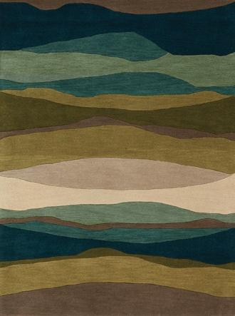 "Kalora Interiors Manika 5'3"" x 7'7"" Area Rug, 100% Wool."