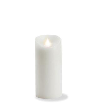 Medium Flameless Candle - white
