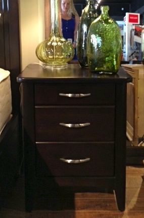 West Winds Alder 3 Drawer Night Stand