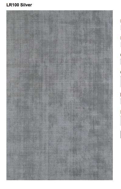 Dalyn Rug Company LR100 in Silver