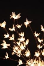"96"" Light White Forsythia"