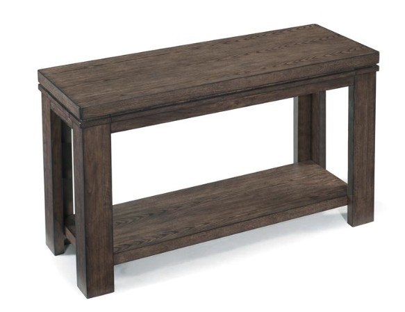 Magnussen Harbridge Rectangular Sofa Table in warm nutmeg