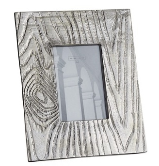 Torre & Tagus ALUMINUM BARK PHOTO FRAME