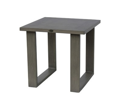 Ratana Park Lane End Table - Outdoor Furniture.  Available in Taupe Finish only.