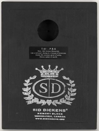 Sid Dickens P & A
