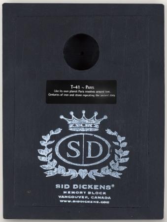 Sid Dickens Paris