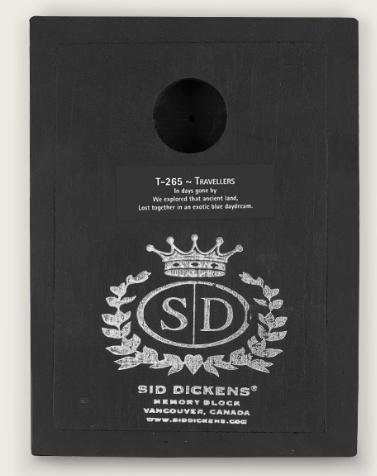 Sid Dickens Travellers