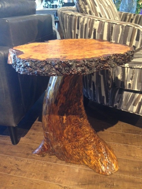 Alex Neidbala Mushroom Side Table