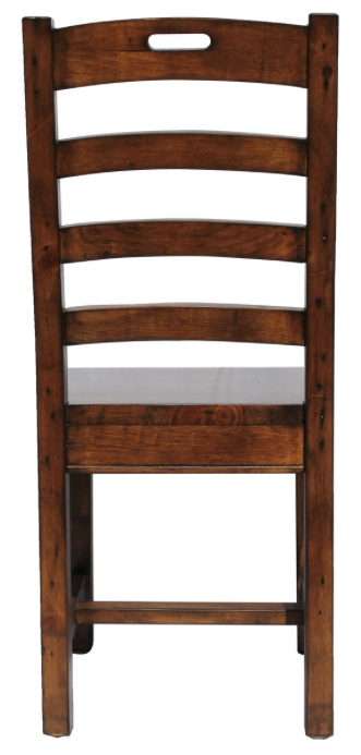 LH Imports Irish Coast Hand-Hole Chair.  Stain in African Dusk.