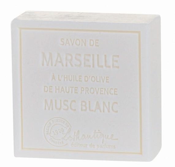 Lothantique Savon de Marseille 100g Soap - White Musk