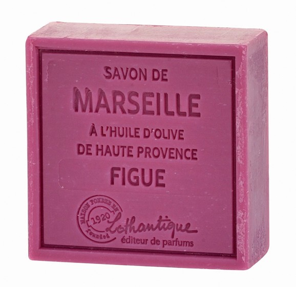 Lothantique Savon de Marseille 100g Soap - Fig