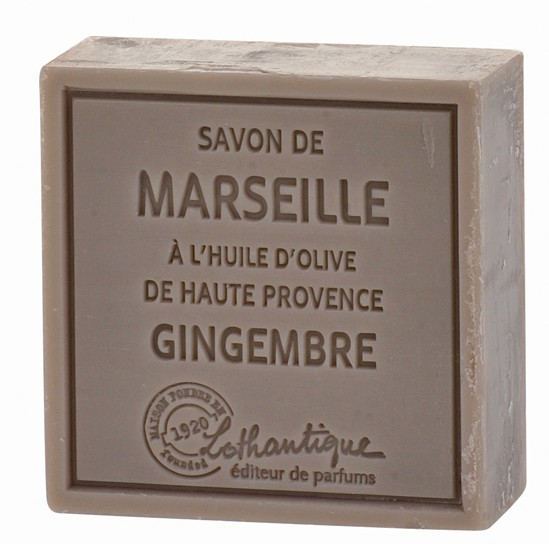 Lothantique Savon de Marseille 100g Soap - Ginger
