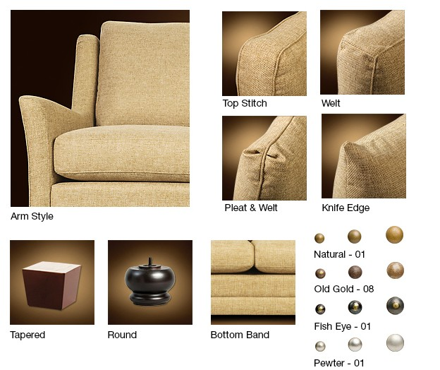 Legacy S-400 Sofa - My Sofa Collection 400 Series
