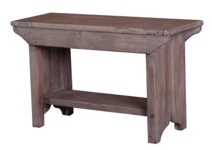 LH Imports Lifestyle Small Bench - Sun Dried
