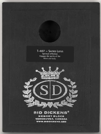 Sid Dickens Sacred Lotus