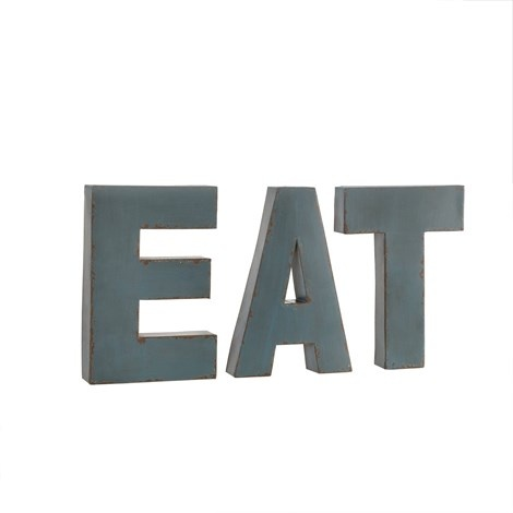 EAT WALL LETTERS