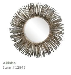 Uttermost Ashika, Circular Wall Mirror
