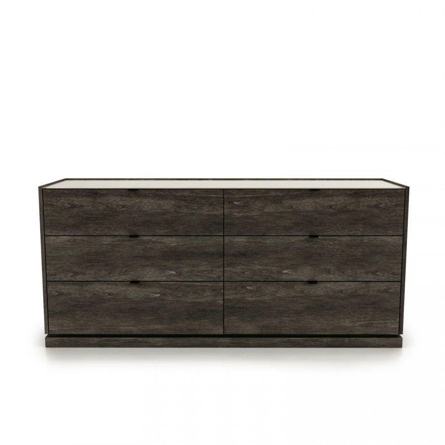 Huppe Cloe 1900 Birch 6 Drawer Dresser