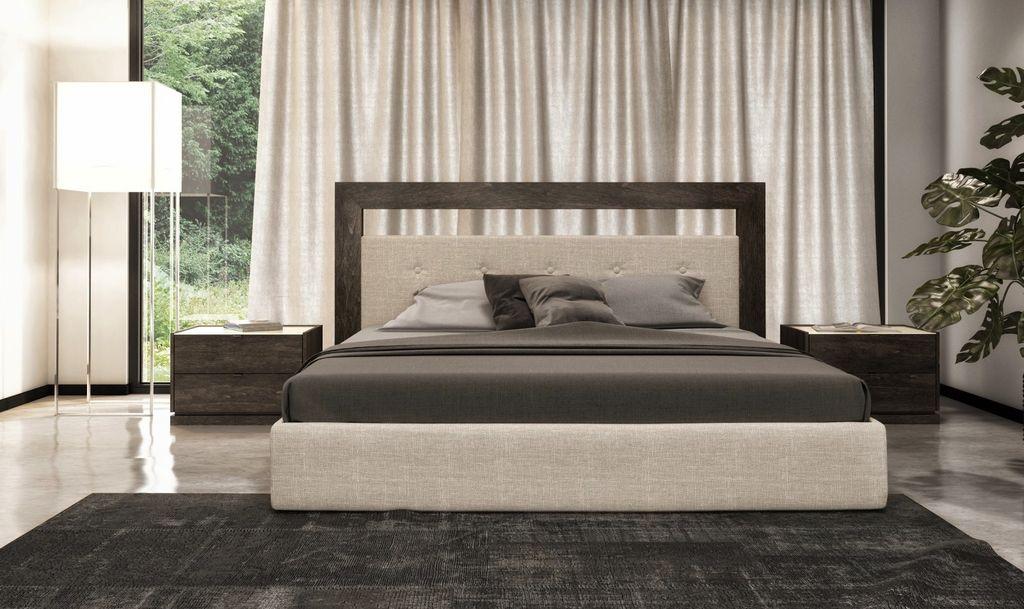 Huppe Cloe Upholstered Queen Bed