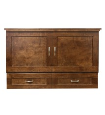 Cabinet Bed Country Style Queen