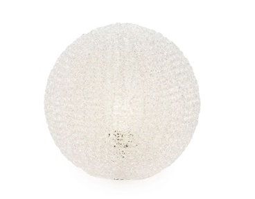 Torre & Tagus Sphere Mesh Table Lamp Small - Clear