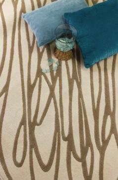 Kalora Interiors MERCURY CREAM/BROWN 6 X 8