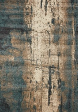 Kalora Interiors ASHBURY CREAM/BLUE 6X8