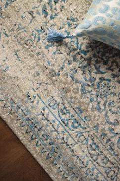 Kalora Interiors PARLOUR GREY/BLUE 6 X 8