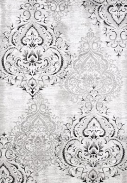 Kalora Interiors PLATINUM WHITE/GREY 6 X 8