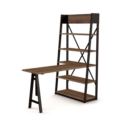 Amisco Rupert Freestanding Shelving/Desk Unit