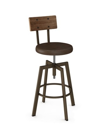 Amisco Architect Screw Stool