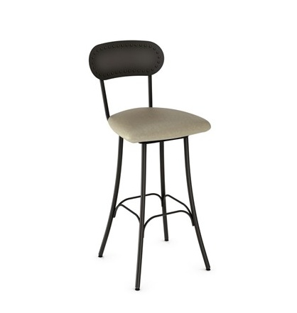 Amisco Bean swivel counter stool.