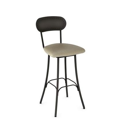 Amisco Bean swivel counter stool.