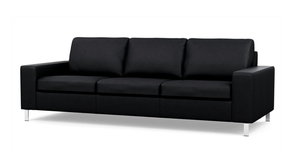 Palliser Inspirations Apartment Sofa with Wide Arm and High Leg.