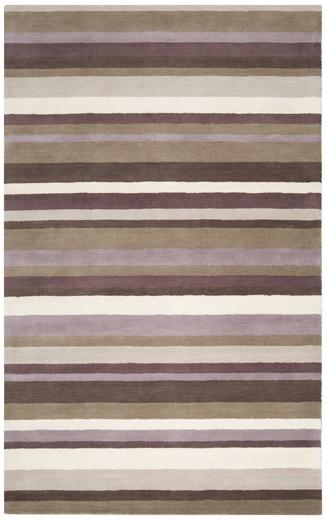 Surya Madison Square 5'x8' Area Rug, 100% Wool.