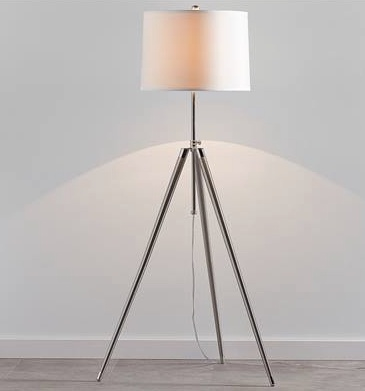 Torre & Tagus Tate Tripod Adjustable Height Floor Lamp