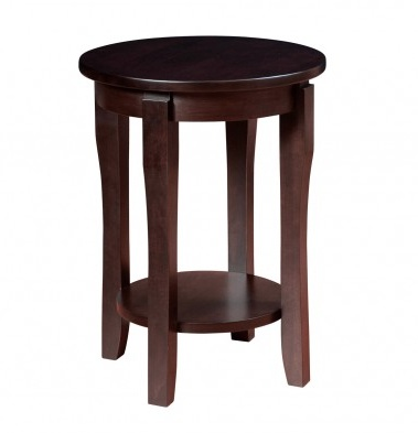 "Woodworks SOHO 18"" Round End Table"