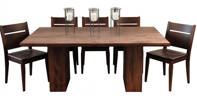 """Woodworks Heartwood 72"""" Maple Dining Table"""
