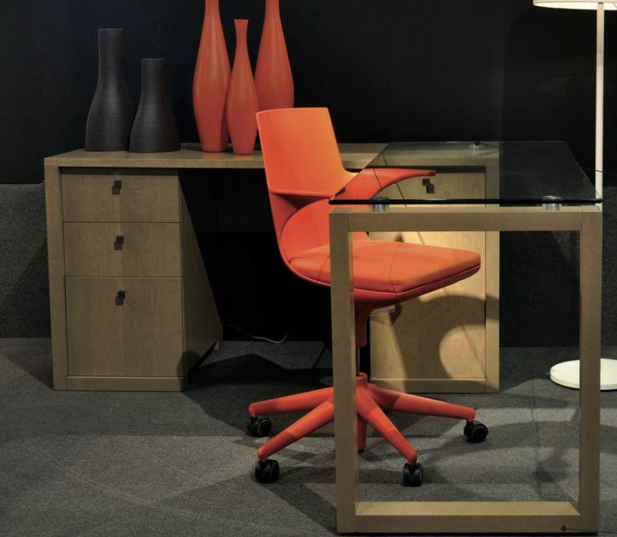 Verbois Verbois Zurich Desk in Choco stain