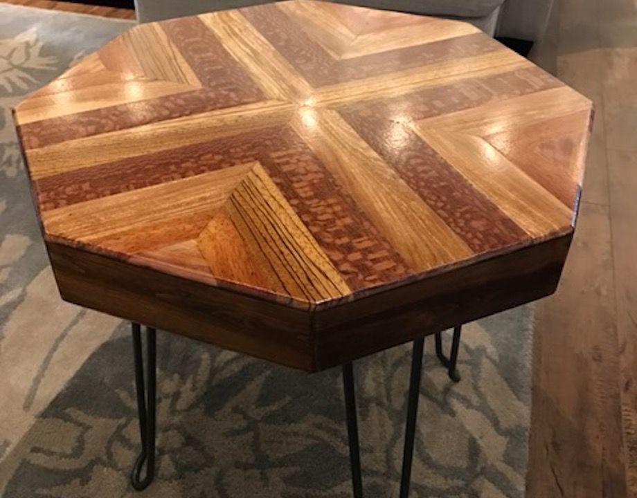 Alex Neidbala Octagonal end table