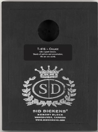 Sid Dickens T-416