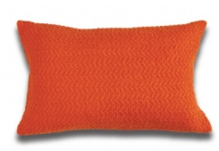 BOUCLE IN PUMPKIN  TOSS PILLOW