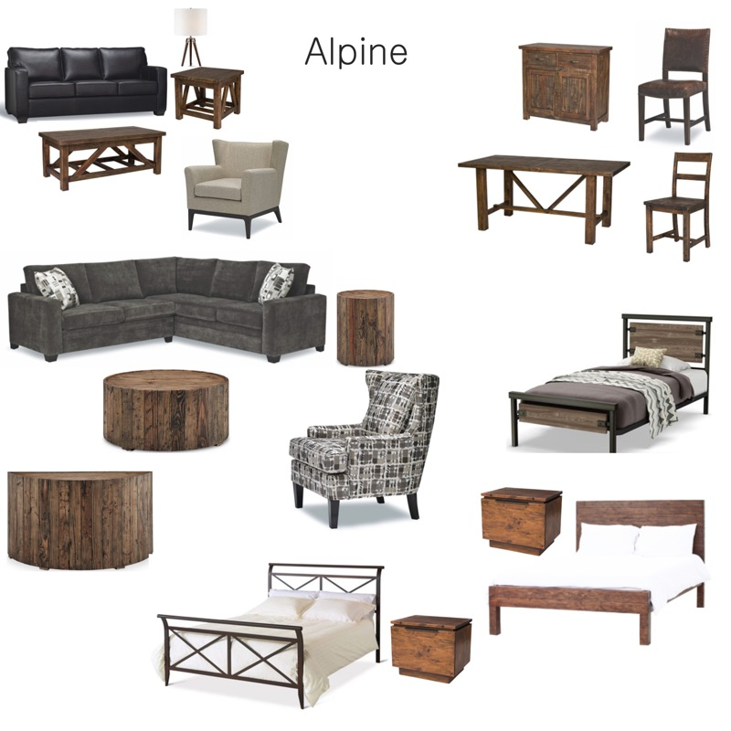 Alpine Furniture Package List