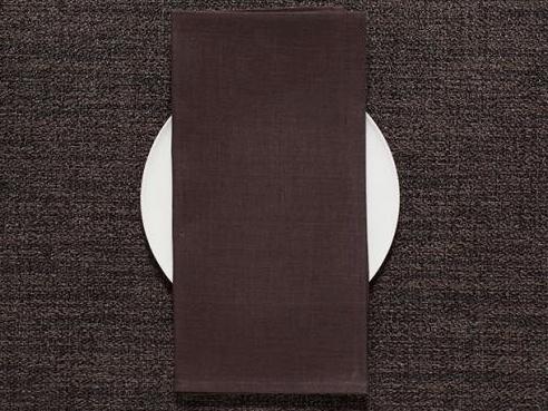 Chilewich Chilewich 100% Linen Napkin - Single Ply - Mocha