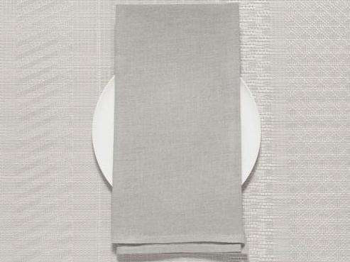 Chilewich Chilewich 100% Linen Napkin - Single Ply - Bone