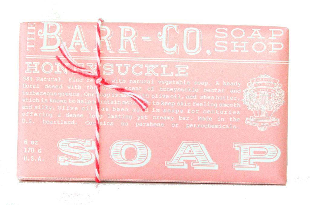Barr Co Barr Co. Honeysuckle Soap 6oz
