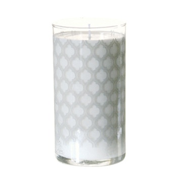 K Hall Milk Print Candle 24oz