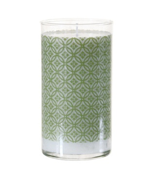 K Hall Moss Print Candle 24oz