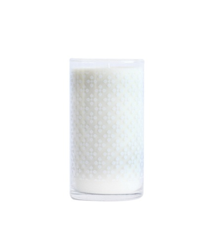 K Hall Washed Cotton Print Candle 24oz